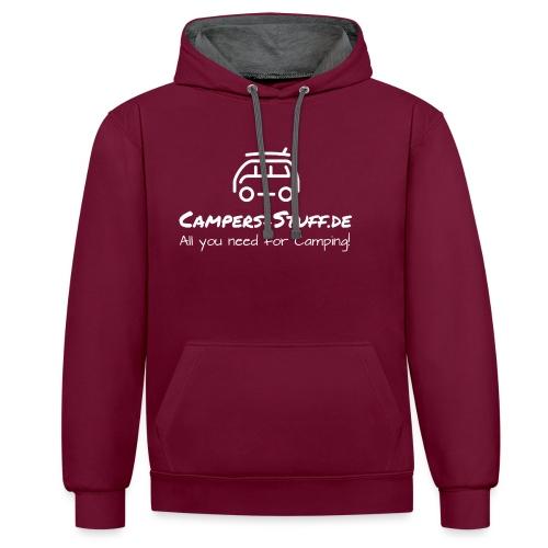 Campers Stuff - Kontrast-Hoodie