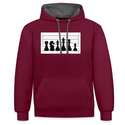Lichess Lineup - Contrast Colour Hoodie