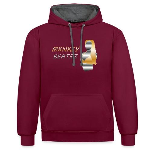 Mxnkey Beatsz Snapback - Contrast hoodie