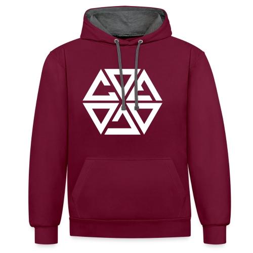 Cosmicwhite - Contrast hoodie