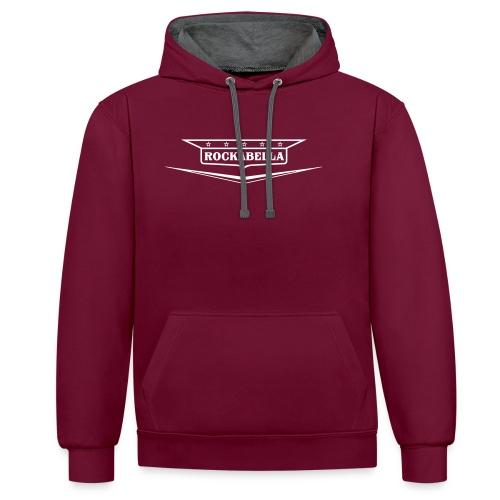 Rockabella-Shirt - Kontrast-Hoodie