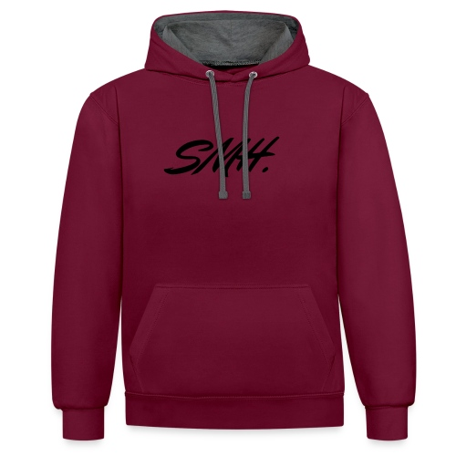 SMH - Sweat-shirt contraste