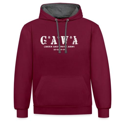 GAWA military - Contrast Colour Hoodie
