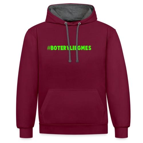 #botervliegmes hoodie (vrouwen) - Contrast hoodie