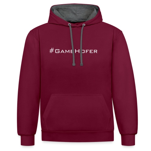 GameHofer T-Shirt - Contrast Colour Hoodie
