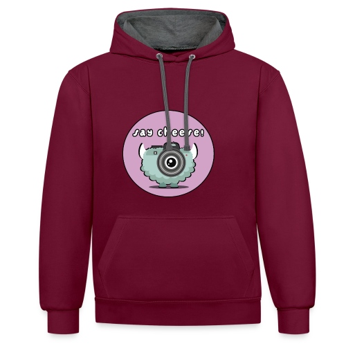 Foton The Monster Camera - Contrast Colour Hoodie