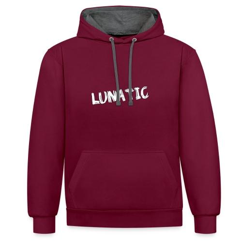 LUNATIC - Contrast Colour Hoodie