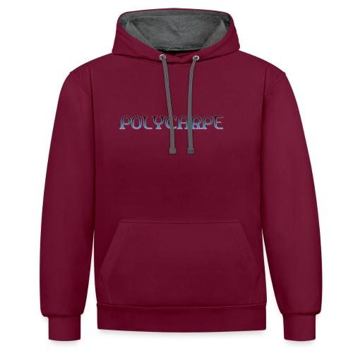 Polycarpe - Sweat-shirt contraste
