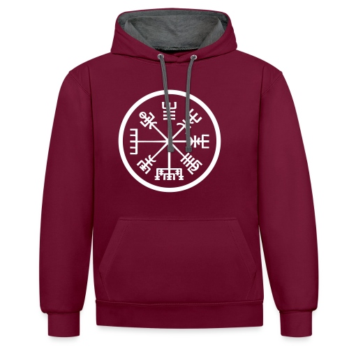 Vegvisir MT16 - Sweat-shirt contraste