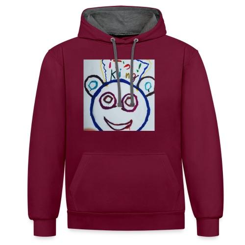 de panda beer - Contrast hoodie