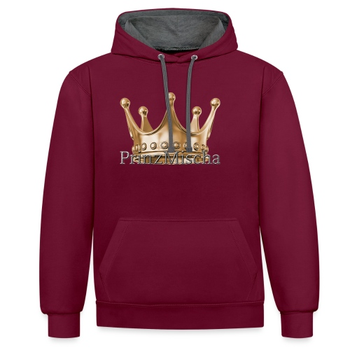 PrinzMischa Pullover - Kontrast-Hoodie
