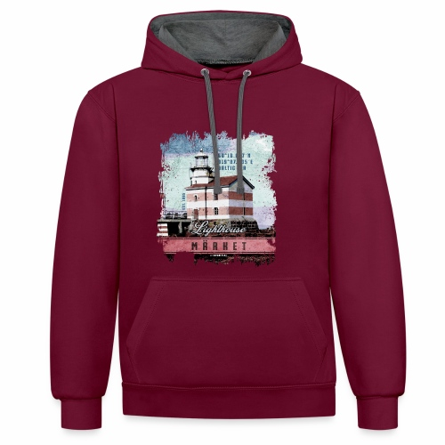 Märket majakkatuotteet, Finland Lighthouse, väri - Kontrastihuppari