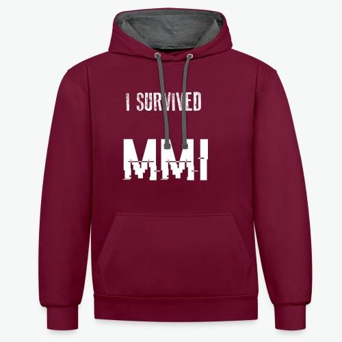 MMI survivor alternative - Sweat-shirt contraste