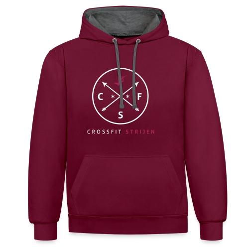 cirkel3 - Contrast hoodie