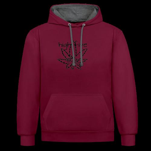 HighFive - Contrast hoodie
