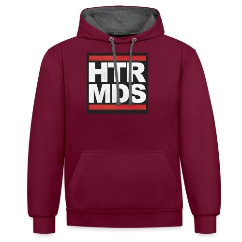 HTRMDS_LOGO - Kontrast-Hoodie