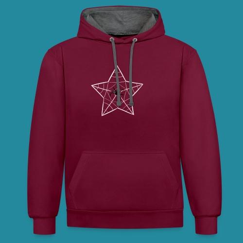 étoile d'araignée - Sweat-shirt contraste