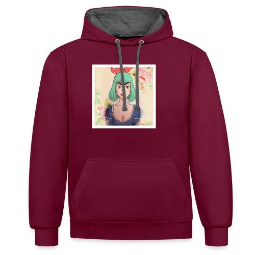 elena of spain - Contrast Colour Hoodie