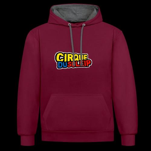 Cirque Du Soleip Letters - Contrast hoodie