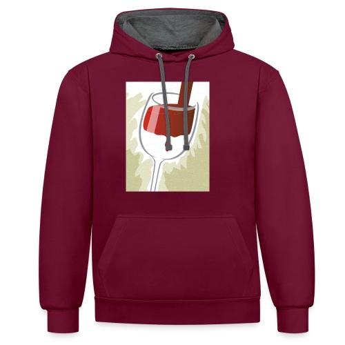 Glas Halfvol - Contrast hoodie