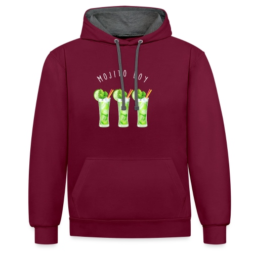 mojito boy - Sweat-shirt contraste