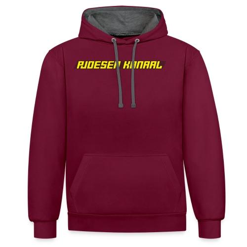 Pjoesen Kanaal - Contrast hoodie