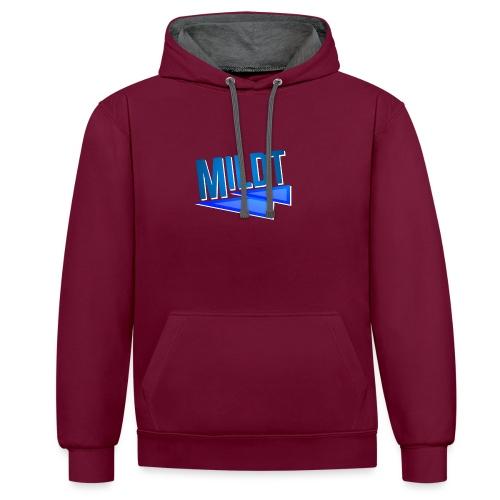 MILDT Mok - Contrast hoodie