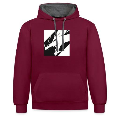 Dragon Black - Contrast hoodie
