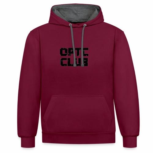 club optc - Kontrast-Hoodie