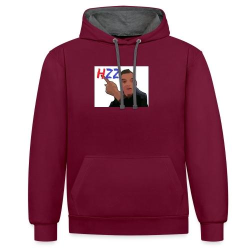 hetzeizo t-shirt Kind - Contrast hoodie