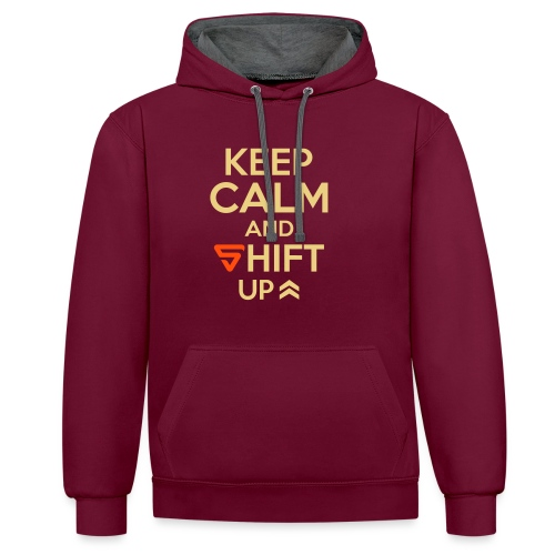 Shift UP ! - Sweat-shirt contraste