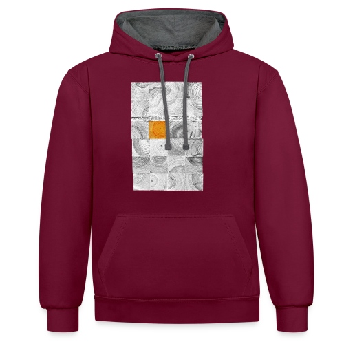 Cubes de Bois - Sweat-shirt contraste