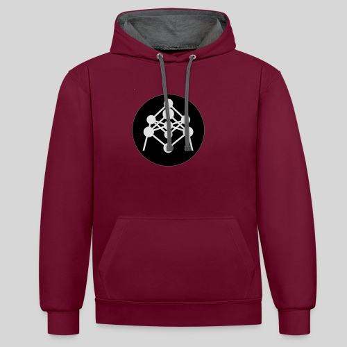 Atomium - Sweat-shirt contraste