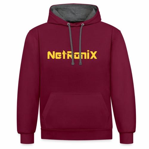 Netronix Special - Kontrast-Hoodie