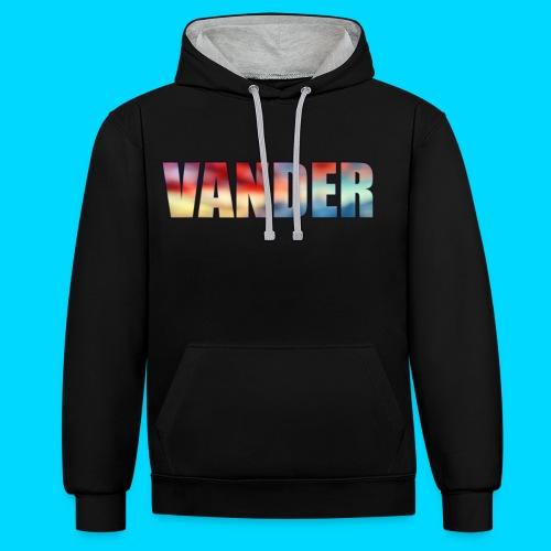 Vander Colorful - Contrast Colour Hoodie