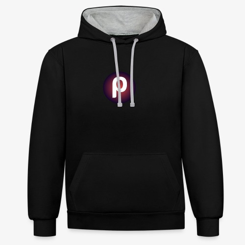Ze New Lives Logo - Contrast Colour Hoodie