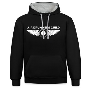 ADG Drum'n'Wings Emblem - Contrast Colour Hoodie