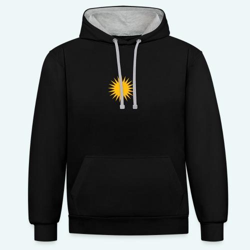 PARMA SUN - Kontrast-hættetrøje