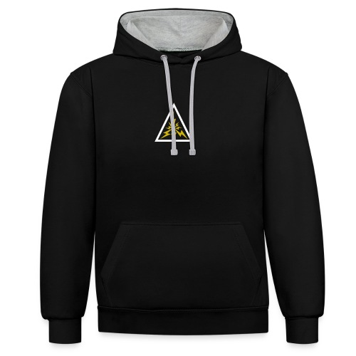 Lightning - Contrast Colour Hoodie