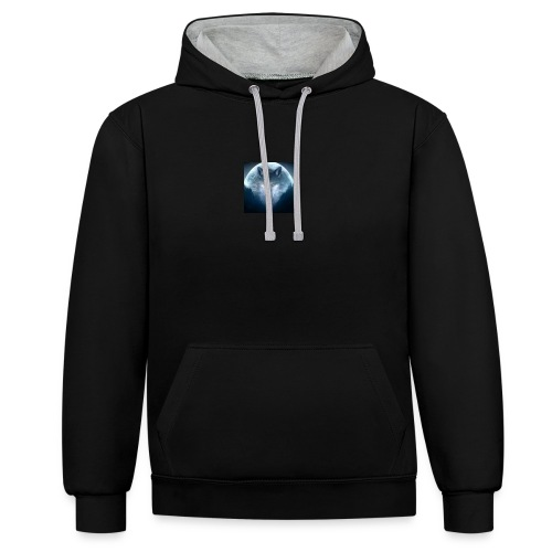 Leader of the Pack - Contrast Colour Hoodie