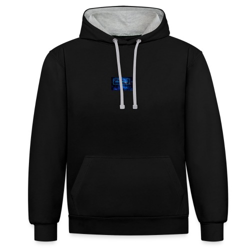 IMG_0211 - Contrast Colour Hoodie