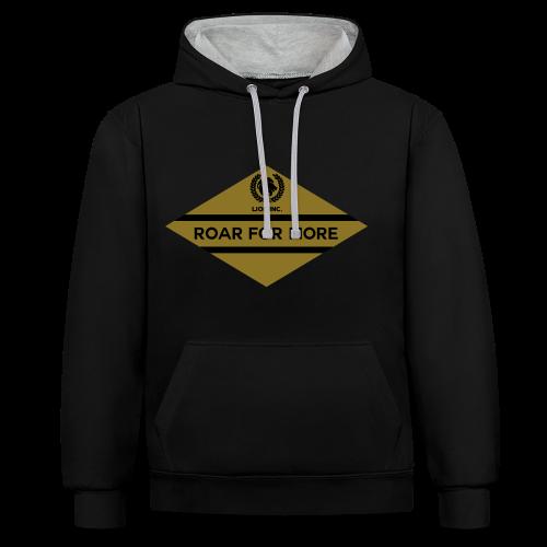 Lion Inc. - Contrast hoodie