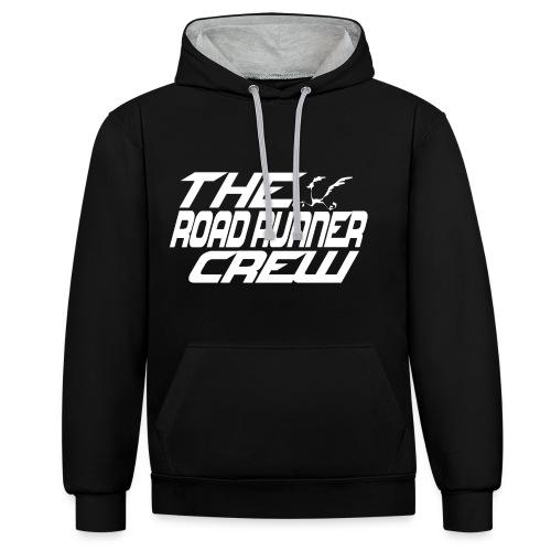 TRRCrew3 - Felpa con cappuccio bicromatica