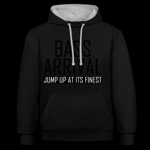 Bass Arrival - Jump Up at its Finest - Kontrast-Hoodie