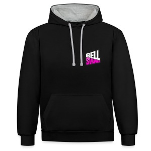 Bellswag logo - Contrast Colour Hoodie