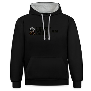 Kimi Raikonnen - Leave Me Alone... - Contrast Colour Hoodie