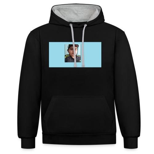 t shirts voor mijn youtube kanaal heel goedkoop - Contrast hoodie