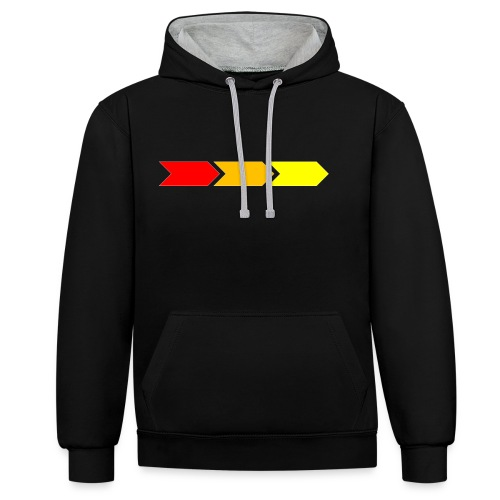 Official Thunder Gamer Hoodie - Contrast Colour Hoodie