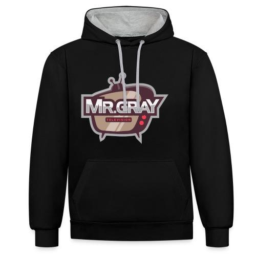 MrGrayTV - Kontrast-hættetrøje