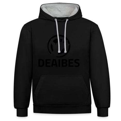 Deaibes - Kontrast-hættetrøje
